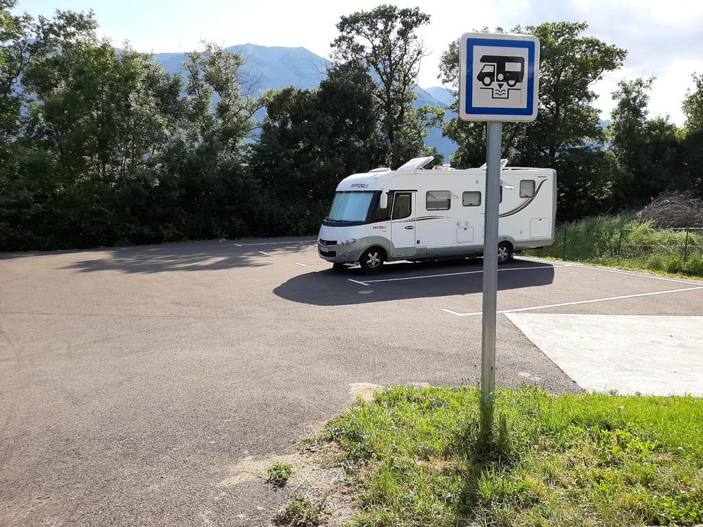 Aire de camping-car de St Bonnet-en-Champsaur