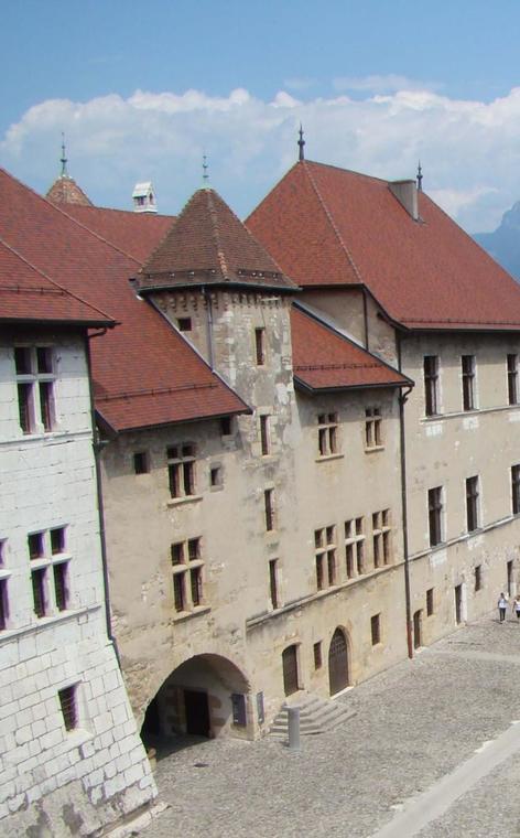 Vieux logis du château d'Annecy