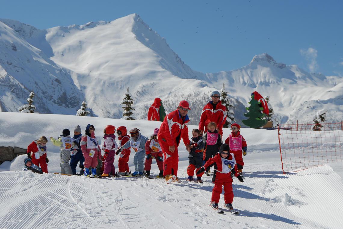 Remise des médailles de ski