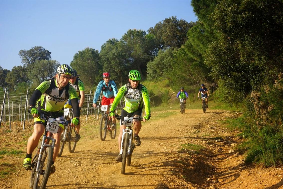 La Maurin des Maures, course VTT nature