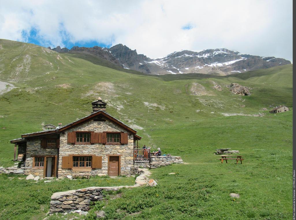 Parc national de la Vanoise- Refuge Vallonbrun
