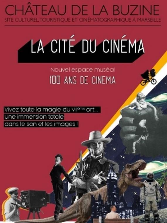Cité du Cinéma - Château de la Buzine