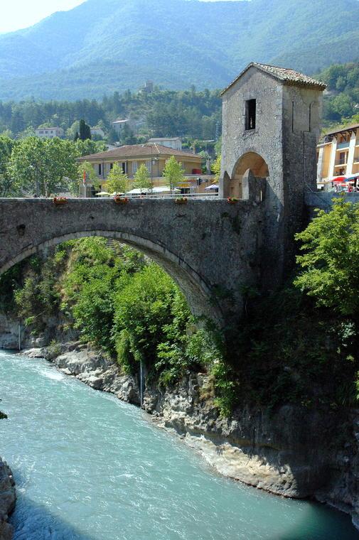 Pont levis d'Entrevaux