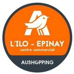 Logo du Centre Commercial centre commercial Aushopping L'ILO