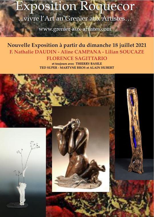 Expo le grenier aux artistes