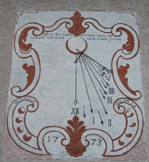 Cadran 1773