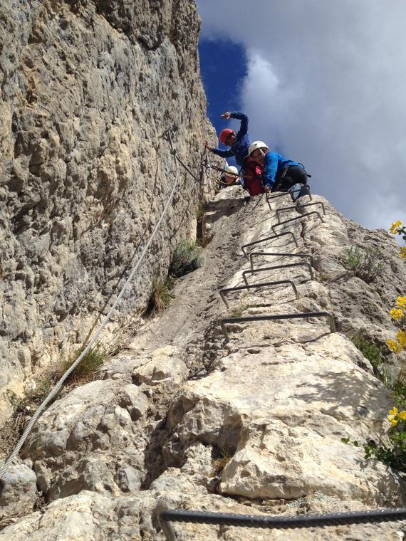 Via ferrata Guides des 2 vallées