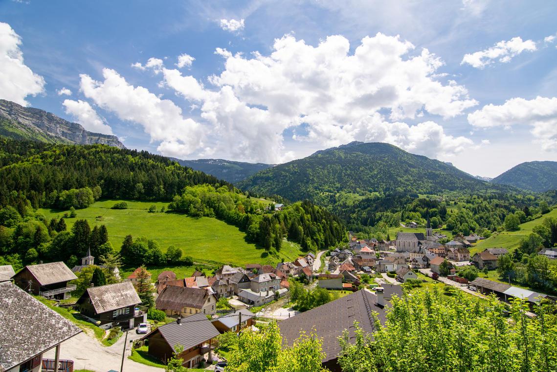 Village de St Pierre d'Entremont