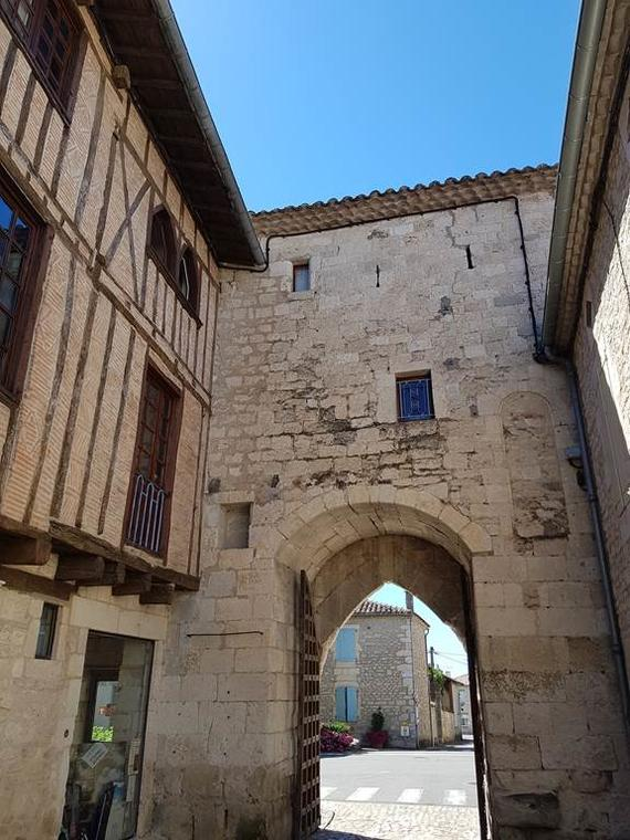 porte de la ville