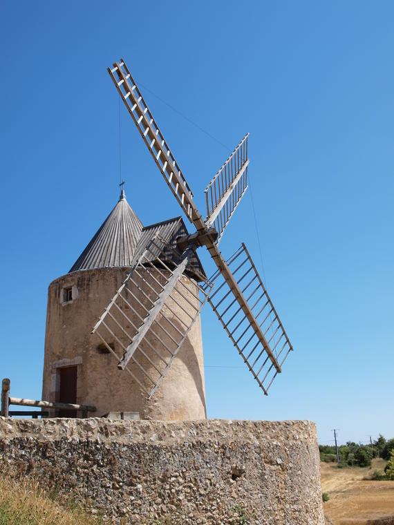 Moulin à vent 14è 15è siècle