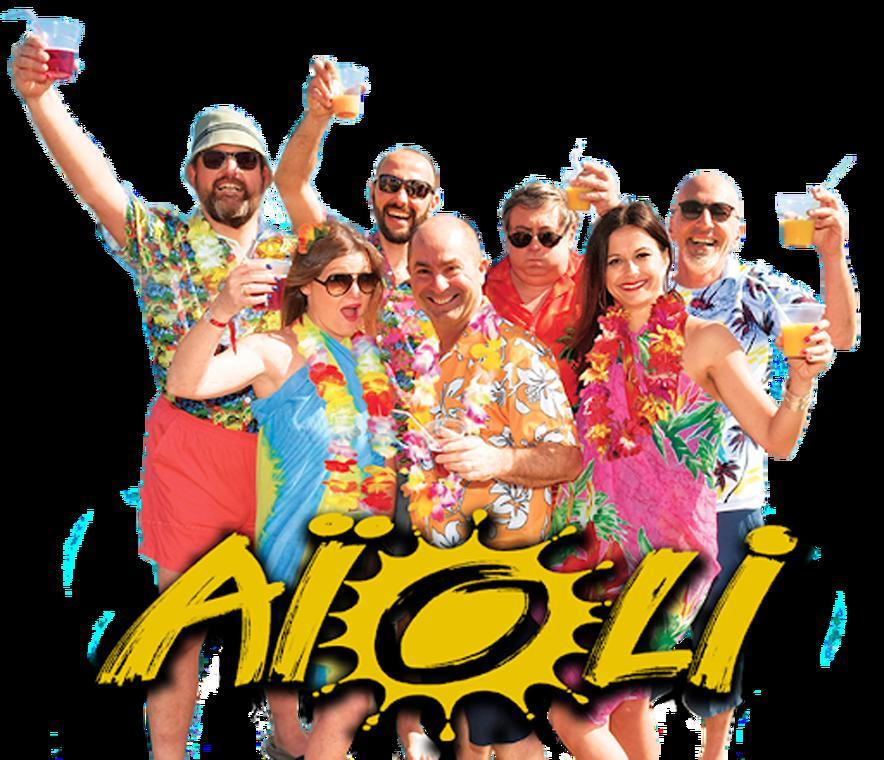 Concert du groupe Aioli aux Sablettes