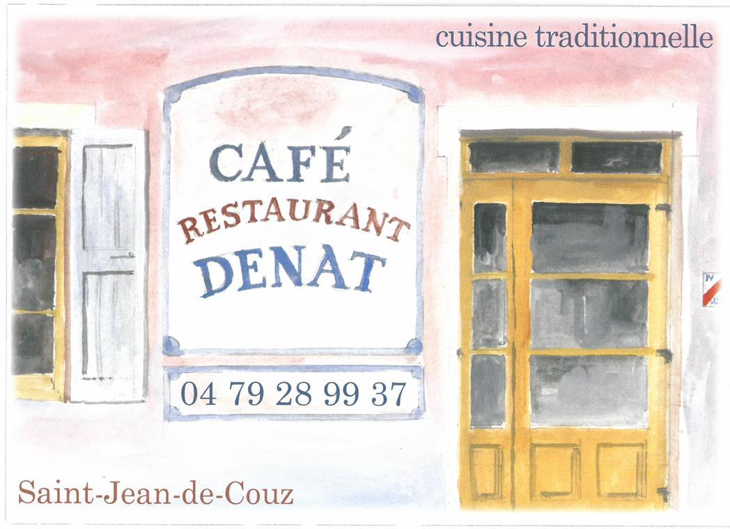 Café Denat - St Jean de Couz