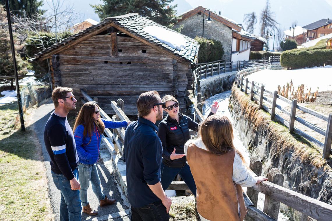 Visite de Verbier-Village