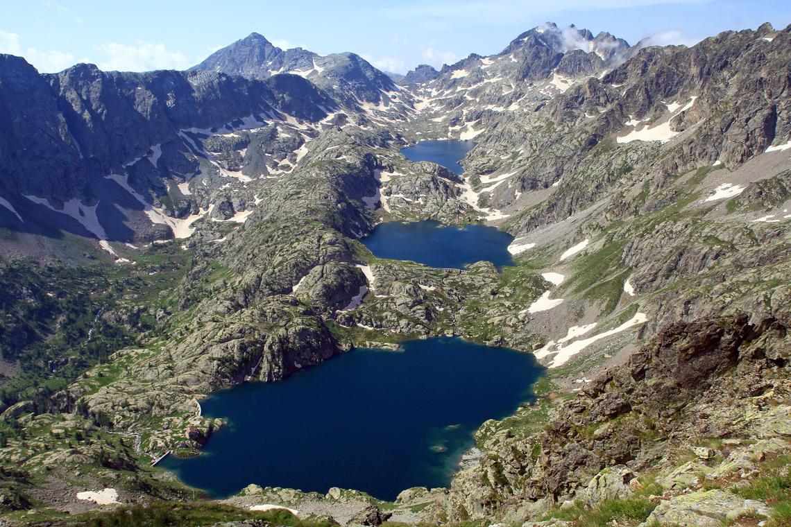Vallée de la Valmasque depuis la baisse de Valmasque