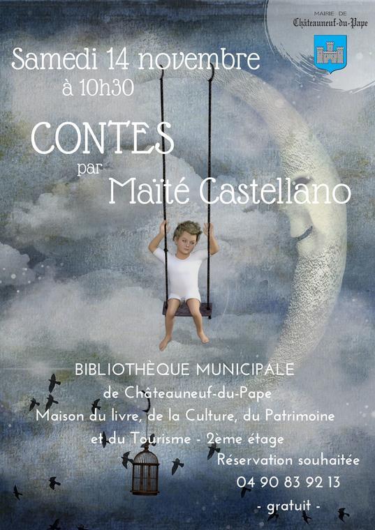 Contes par Maité Castellano