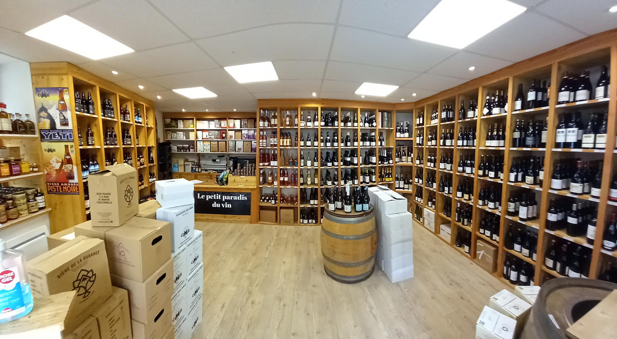 Le petit paradis du vin