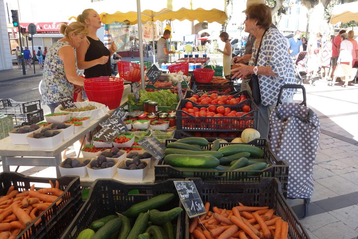 Le marché paysan - avenue gambetta Hyeres