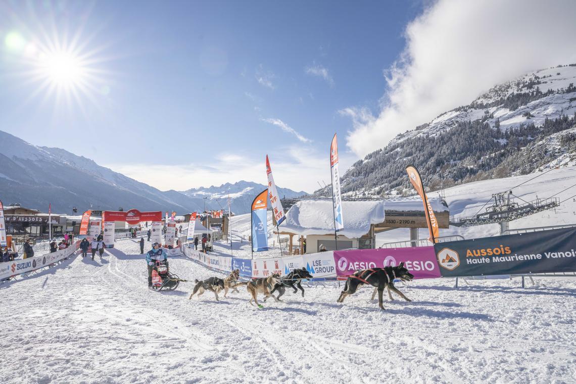 La Grande Odyssée Savoie Mont Blanc - étape Aussois
