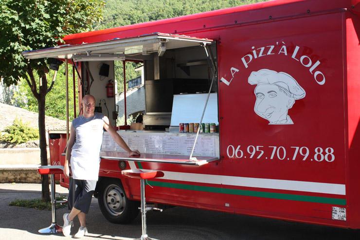 Camion Pizza au Castellet