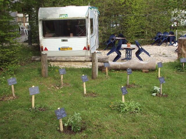 Jardin du camping de l'Ourson