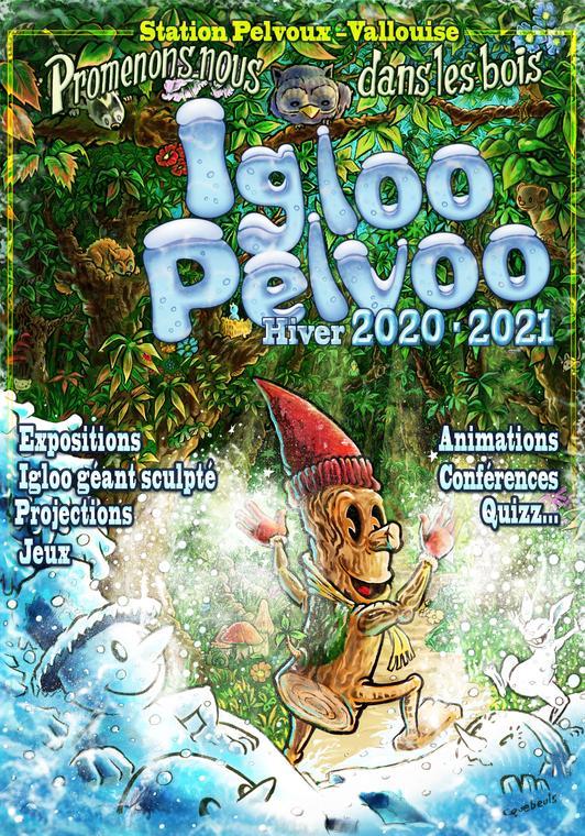 Affiche Igloo Pelvoo