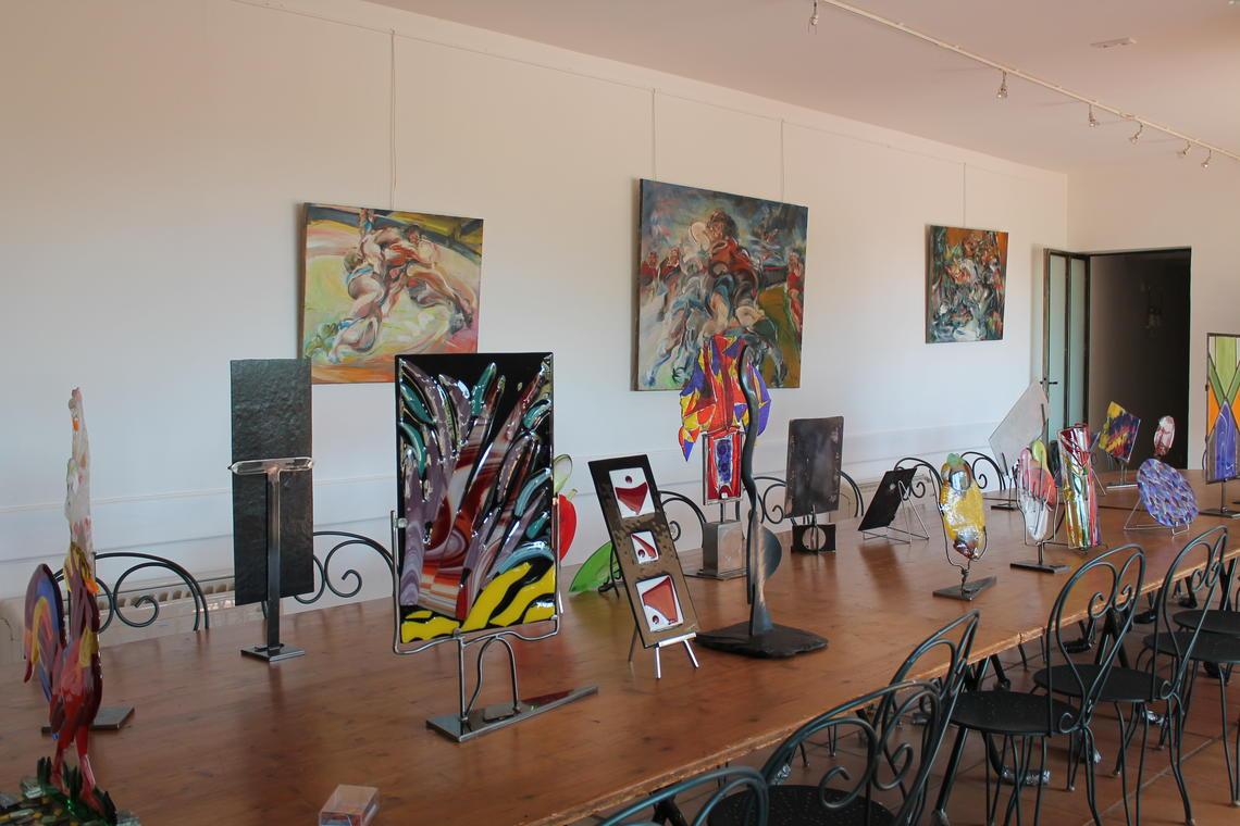 Exposition Art & Vin au Domaine des Peirecèdes à Cuers