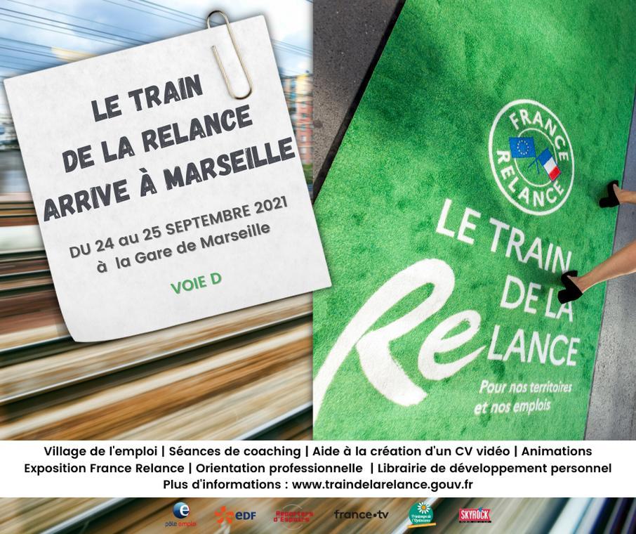 Le train de la Relance à Marseille