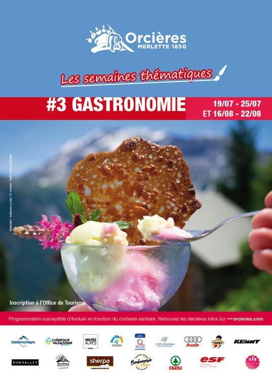 """Semaine thématique """"Gastronomie"""""""