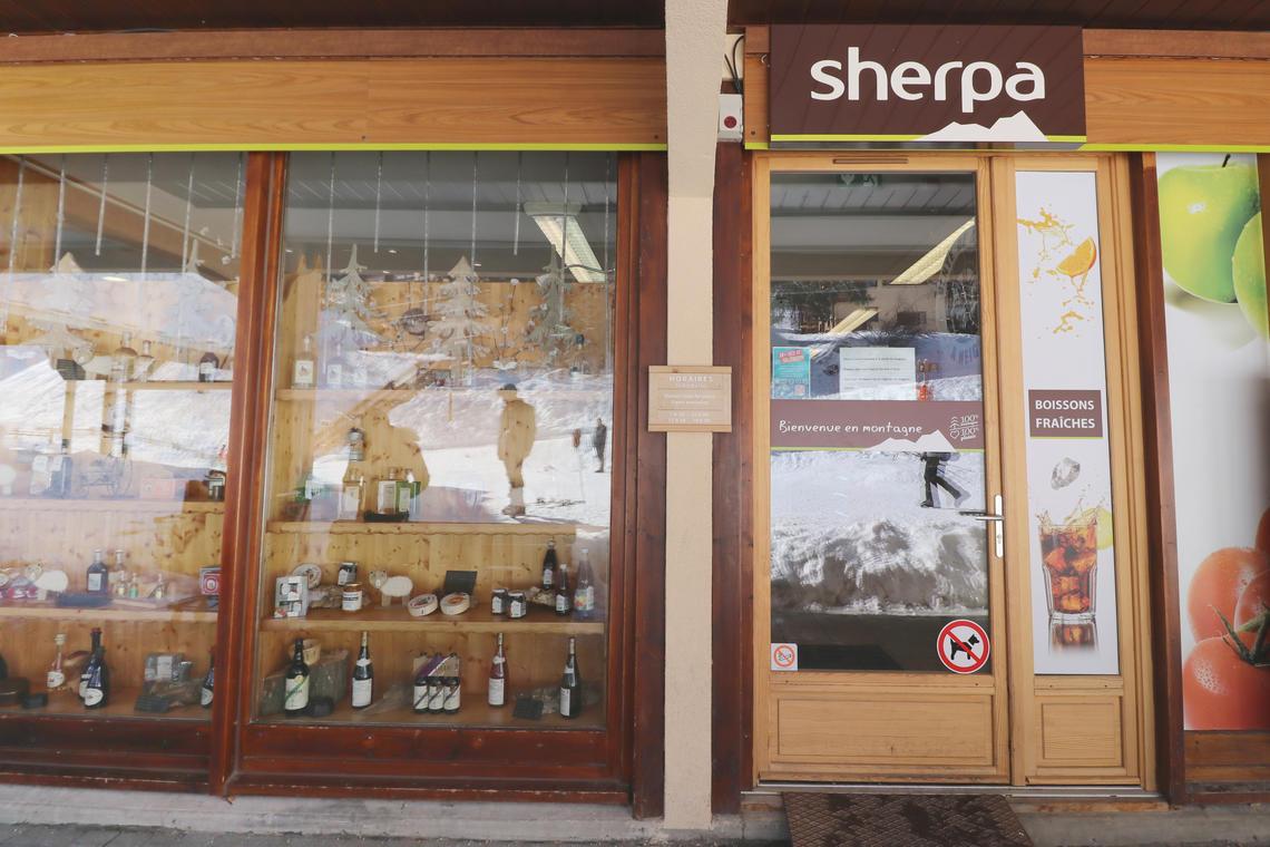 Magasin d'alimentation SHERPA