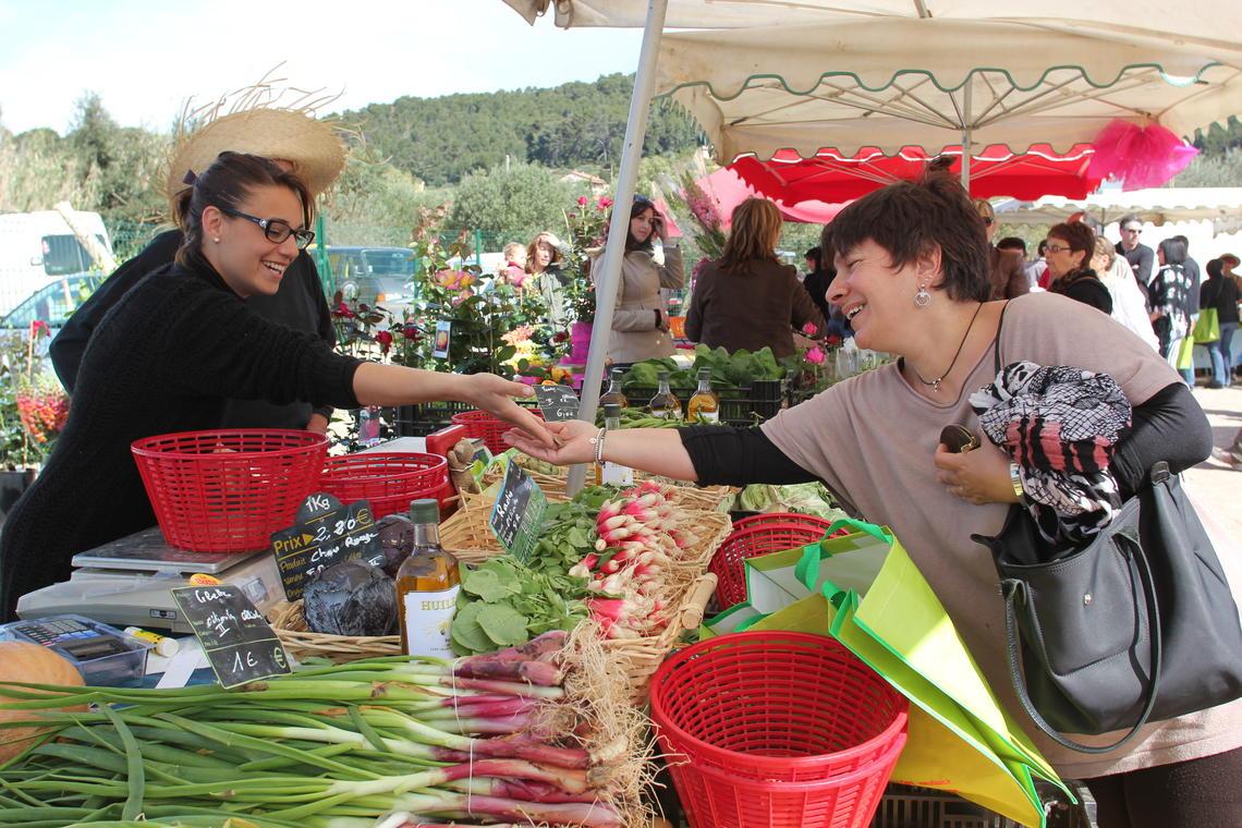 Marché agricole d'Ollioules