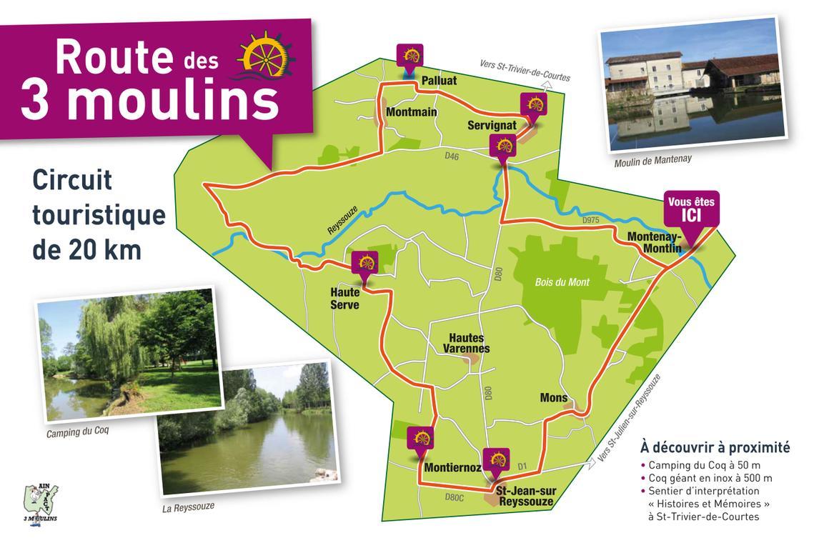 Route des 3 moulins