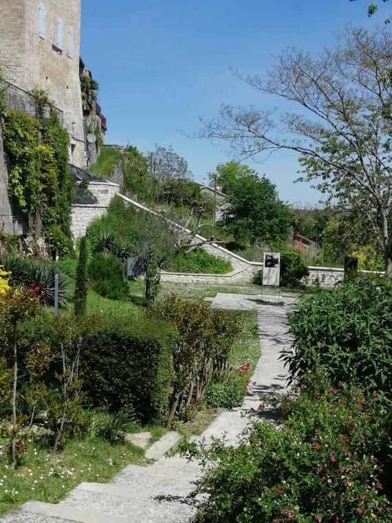Jardin du Pèlerin Lauzerte