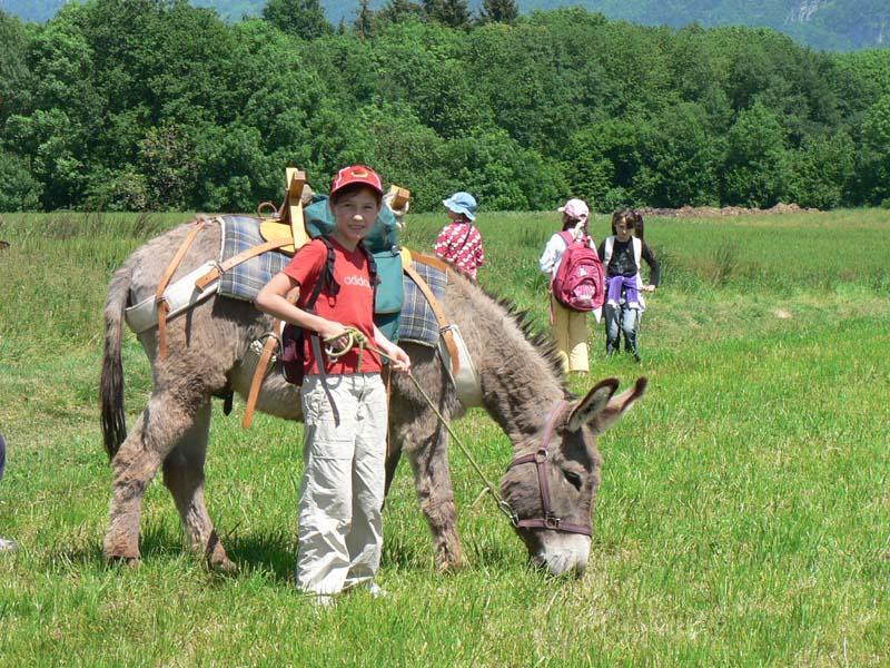 Randonnée au pas de l'âne