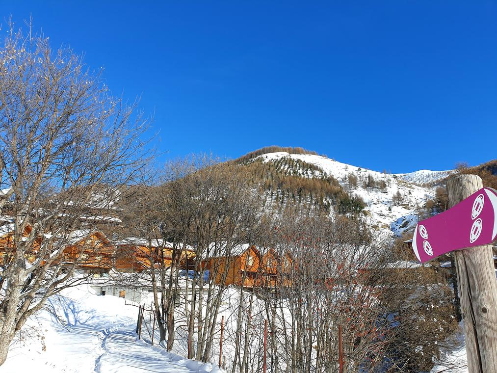 Balade raquettes au Val d'Allos
