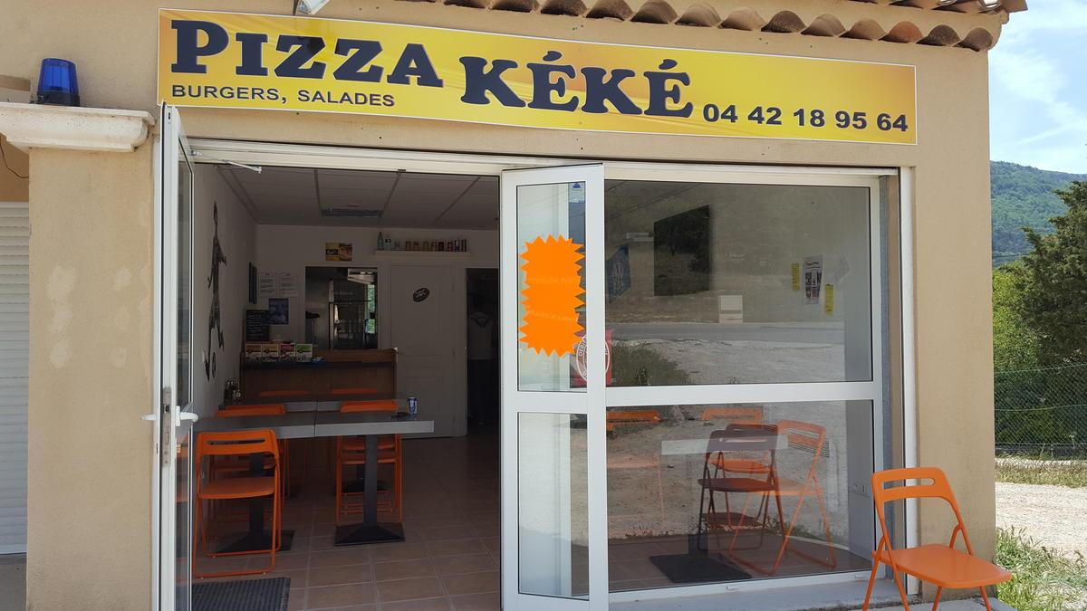 Pizza Kéké - Plan d'Aups Sainte Baume