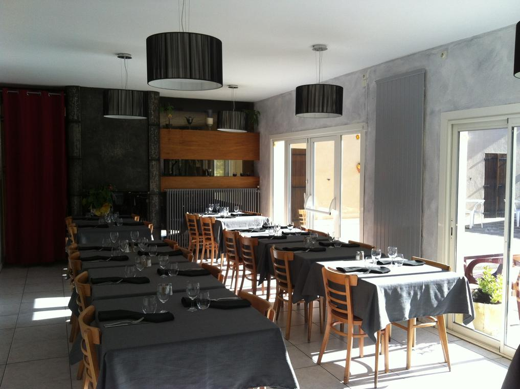 Salle de restaurant du Pidanoux