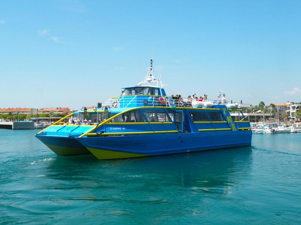 Les bateaux de Saint-Raphaël