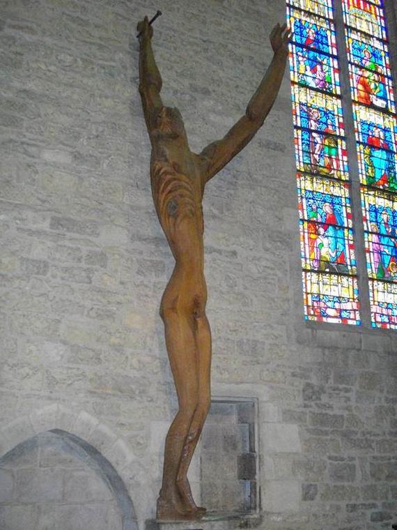 Le christ d'Ossip Zadkine