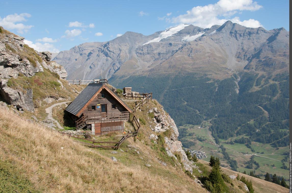 Refuge de Cuchet - refuge du Parc national de la Vanoise