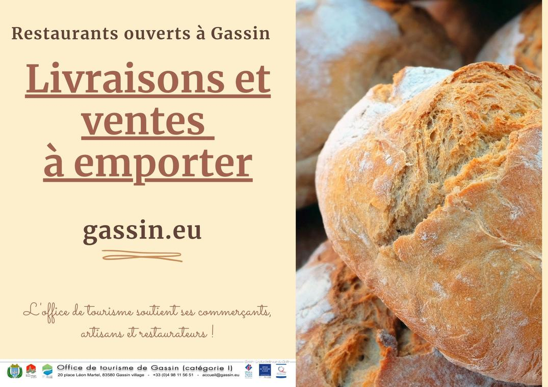 Restaurants ouverts à Gassin