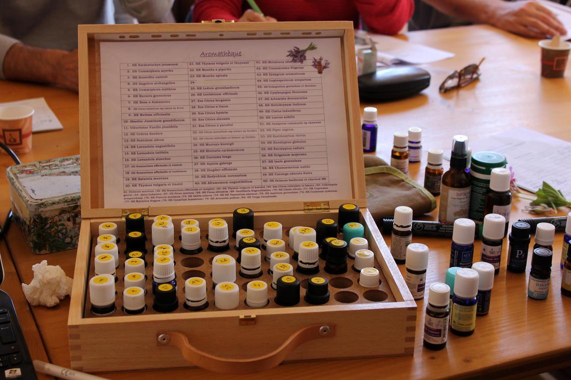 """Ateliers & Formations ''Aromathérapie pratique niveau 3"""""""