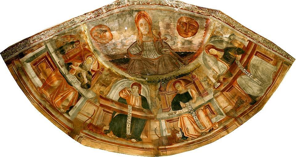 Fresques de la Chapelle Saint Thomas Thorame Basse