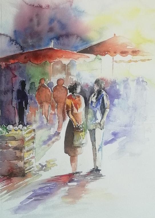 Exposition Delaplace, Goasguen à Chatelaillonplage-Marché
