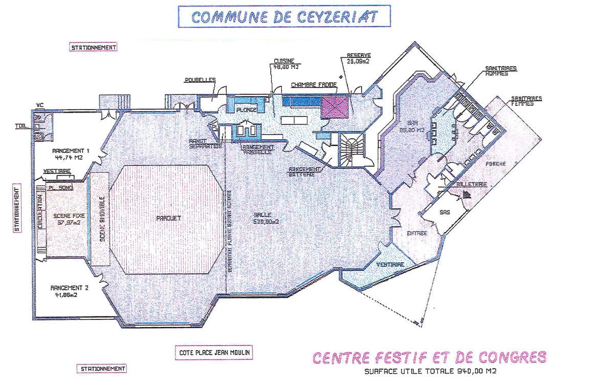 Centre festif et de congrès