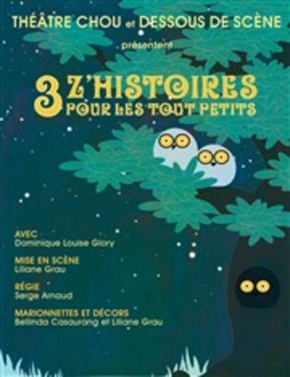 Théâtre jeune Public : 3 z'histoires pour les tout petits
