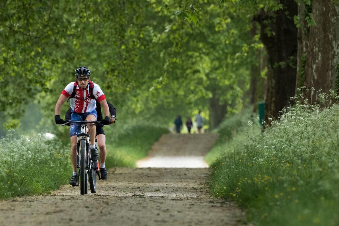 2 rives à vélo