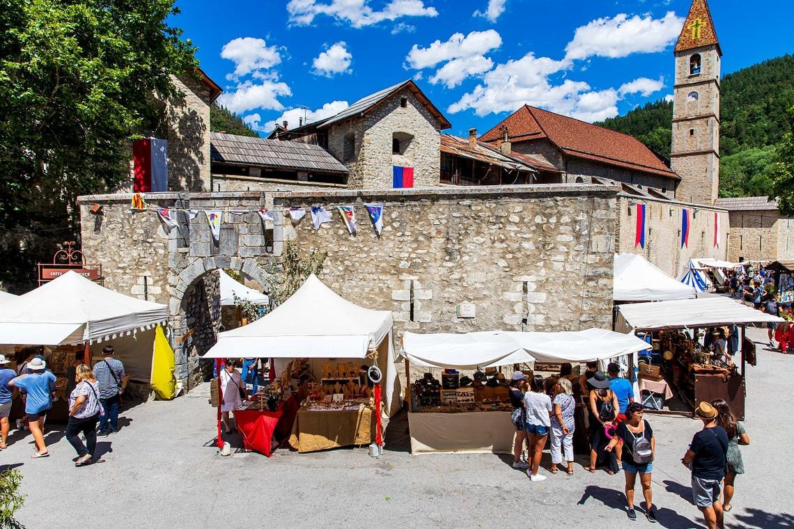 Marché Médiéval Colmars-Les-Alpes