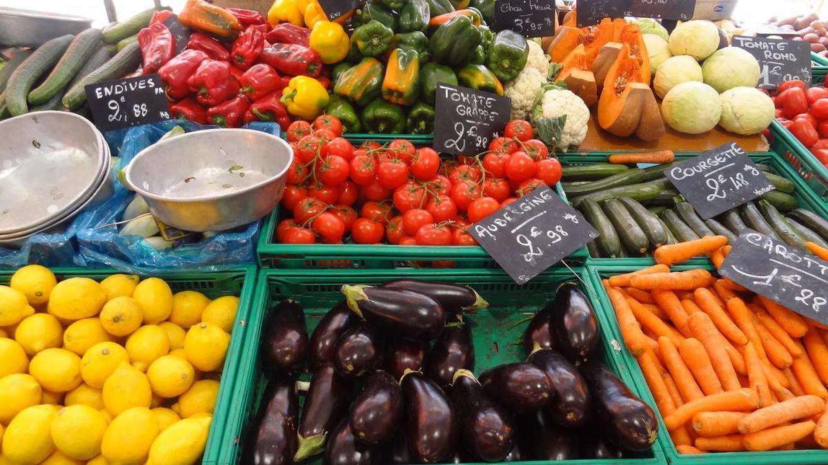marché légumes