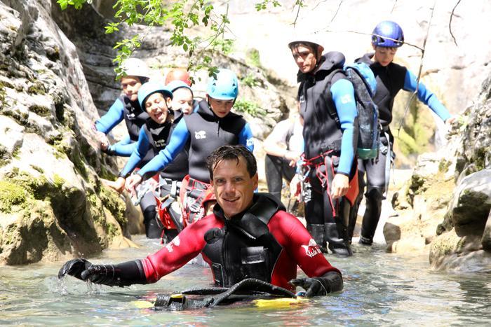 Grimper à Orpierre - canyon sportif