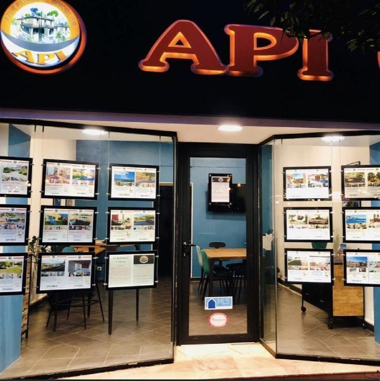 Agence immobilière - API